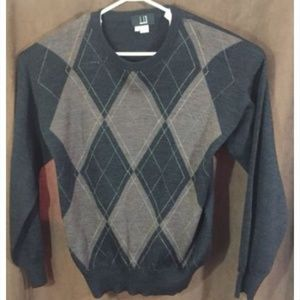 Dunhill Sweater Argyle Knit